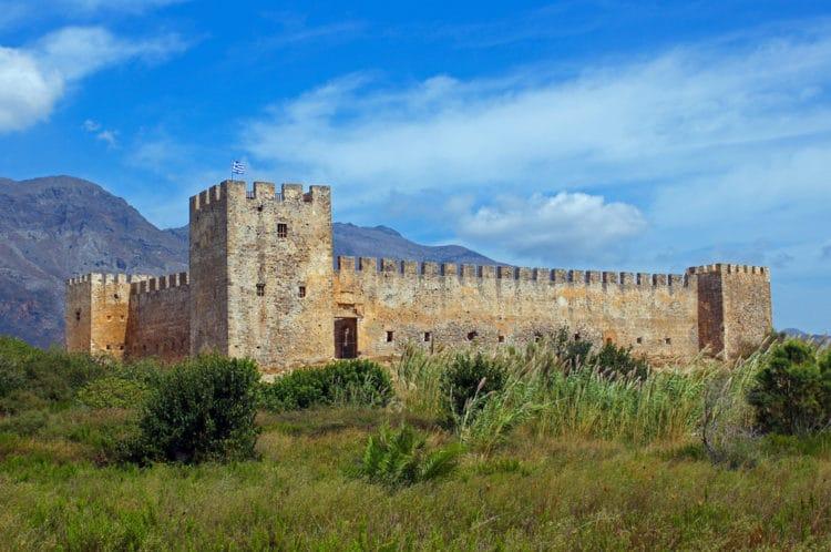 Крепость Франгокастелло - достопримечательности Крита