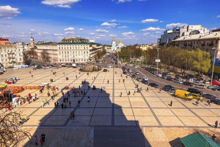 Софийская площадь - достопримечательности Киева