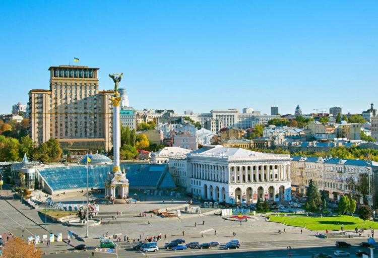 Майдан Незалежности - достопримечательности Киева