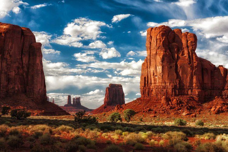 Самые красивые места мира - долина Монументов, США