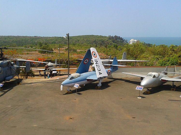 Музей военно-морской авиации - достопримечательности Гоа