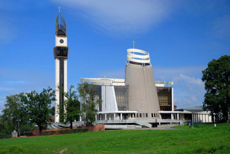Санктуарий Божьего Милосердия - достопримечательности Кракова