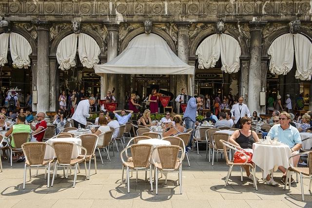 Кафе Флориан - достопримечательности Венеции