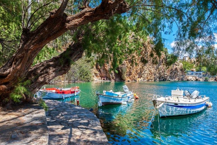 Озеро Вулисмени - достопримечательности Крита