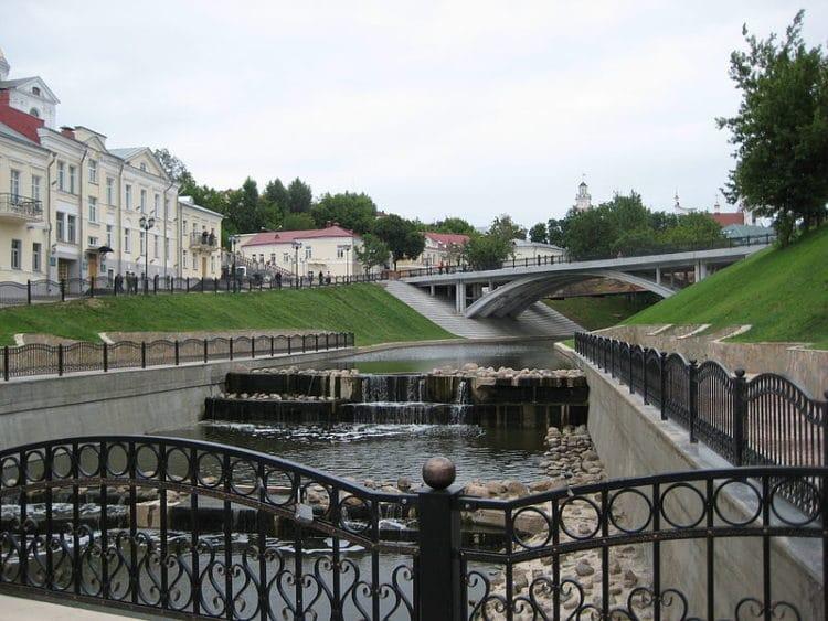 Пушкинский мост - достопримечательности Витебска
