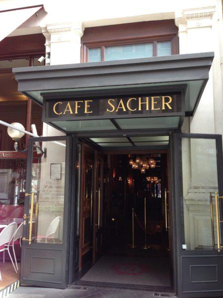 Кафе Захер - достопримечательности Вены