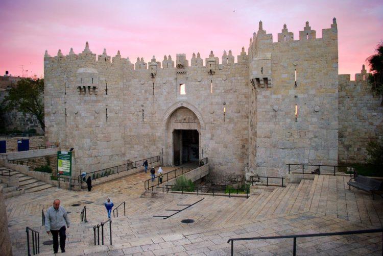 Дамасские ворота - достопримечательности Иерусалима