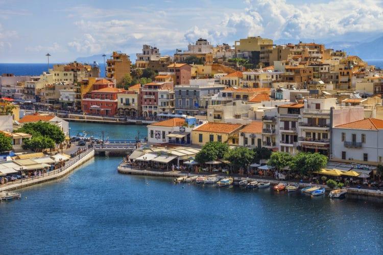 Город Айос-Николаос - достопримечательности Крита