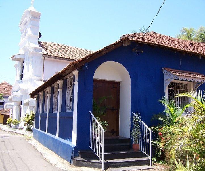 Квартал Фонтейнес в Панаджи - достопримечательности Гоа