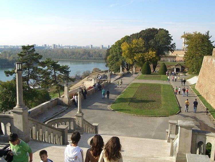 Парк Калемегдан - достопримечательности Белграда