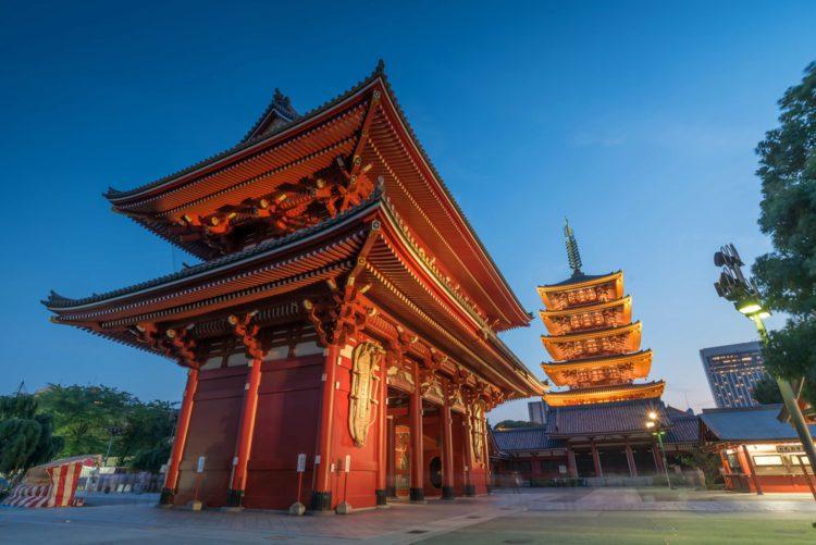 Район Асакуса - достопримечательности Токио