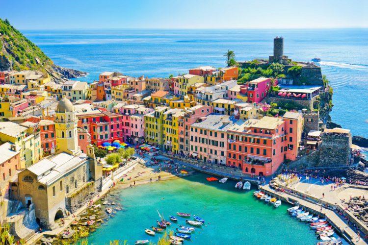 Самые красивые места мира - Чинкве Терре, Италия
