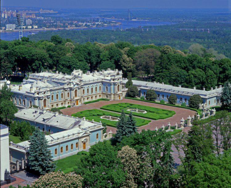 Мариинский дворец - достопримечательности Киева