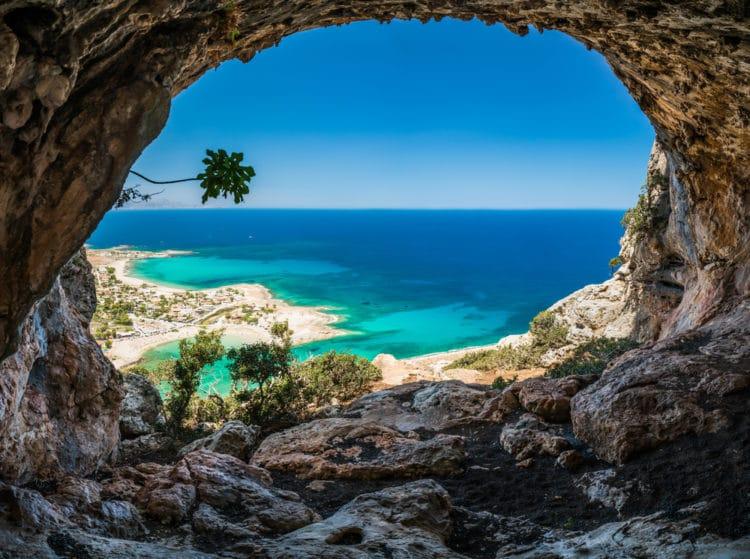 Пляж Элафониси - достопримечательности Крита