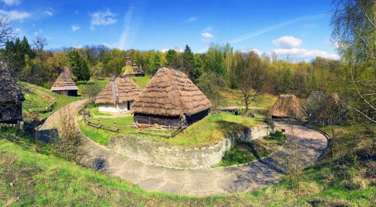 Музей под открытым небом Пирогово - достопримечательности Киева