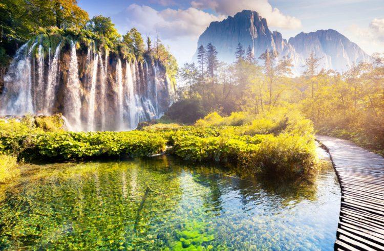 Самые красивые места планеты - Плитвицкие озёра - национальный парк Хорватии