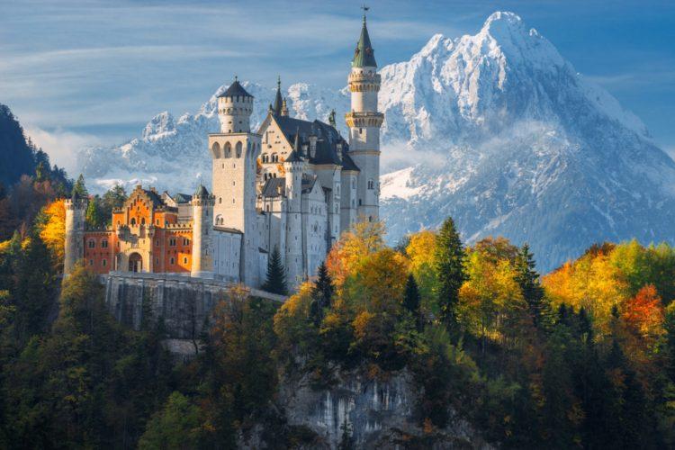 Самые красивые места планеты - замок Нойшванштайн, Германия