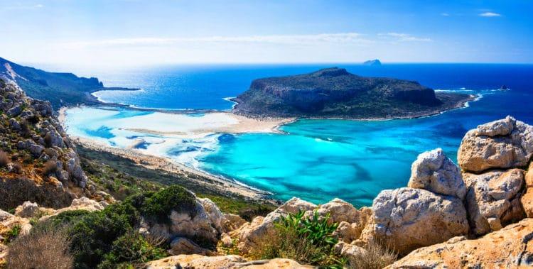 Бухта Балос - достопримечательности Крита