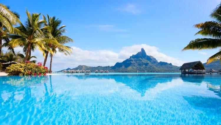 Самые красивые места планеты - остров Бора-Бора, Французская Полинезия