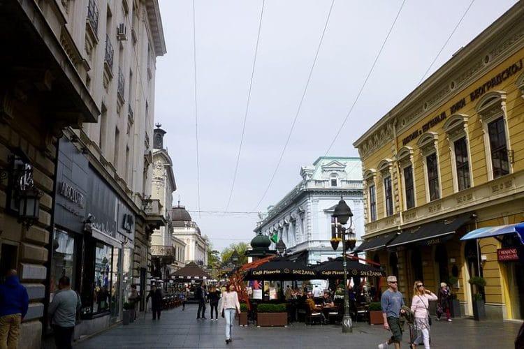 Улица князя Михаила - достопримечательности Белграда