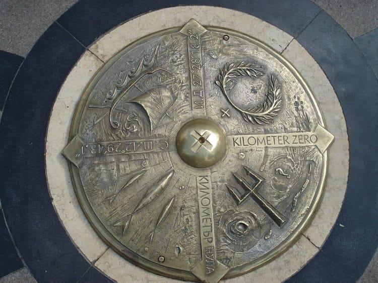 Нулевой километр - достопримечательности Бургаса