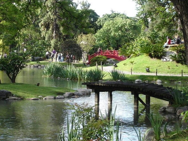 Парк «Трес-де-Фебреро» - достопримечательности Буэнос-Айриса