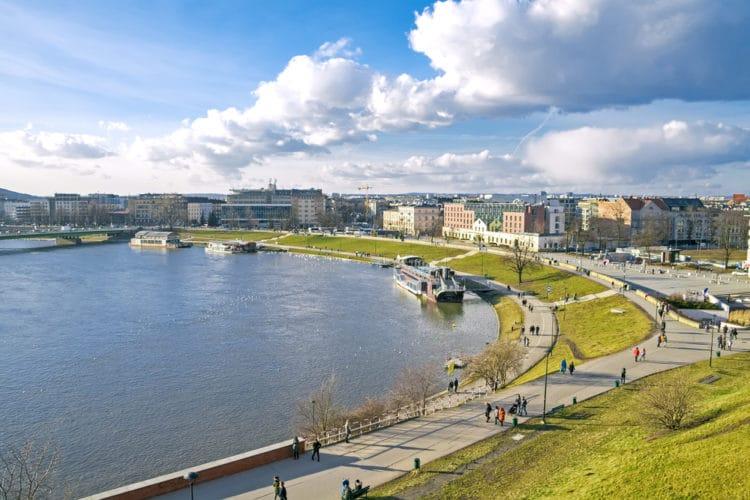 Река Висла - Что посмотреть в Кракове