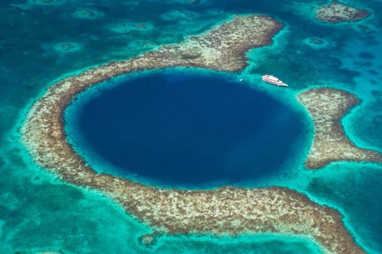Самые красивые места земли - Большая голубая дыра, Белиз