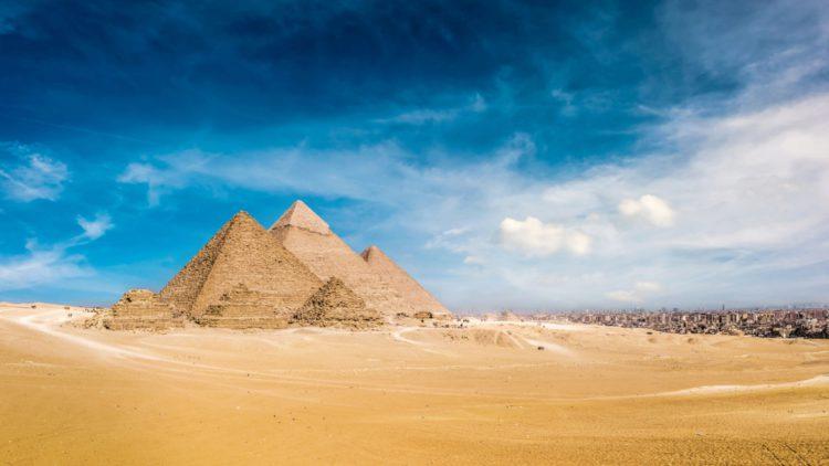 Самые красивые места земли - пирамиды Гизы, Египет