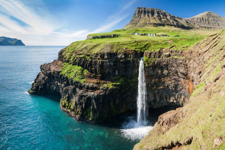 Самые красивые места земли - деревня Гасадалур, Фарерские острова