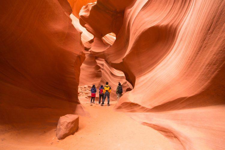 Самые красивые места земли - каньон Антилопы, США