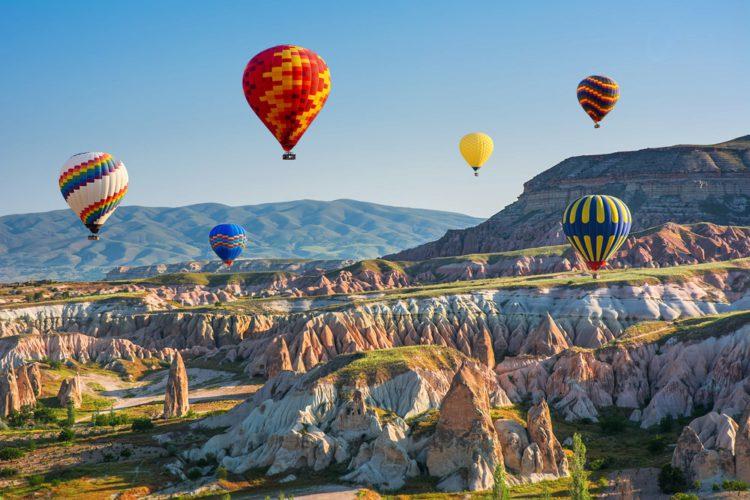 Самые красивые места мира - Каппадокия, Турция