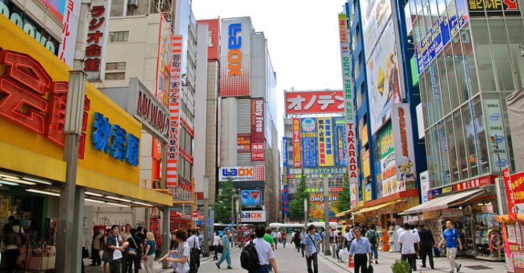 Район Акихабара - достопримечательности Токио