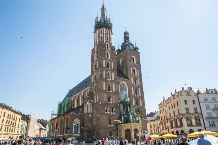 Мариацкий костёл - достопримечательности Кракова