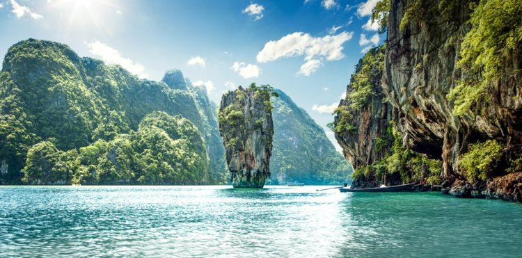 Самые красивые места планеты - остров Джеймс Бонда, Тайланд