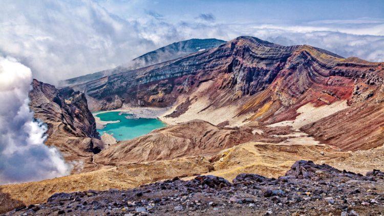 Самые красивые места планеты - долина Гейзеров, Россия