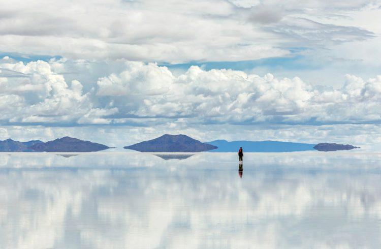 Самые красивые места земли - Салар де Юни, Боливия