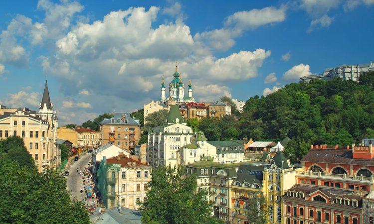Андреевский спуск - достопримечательности Киева