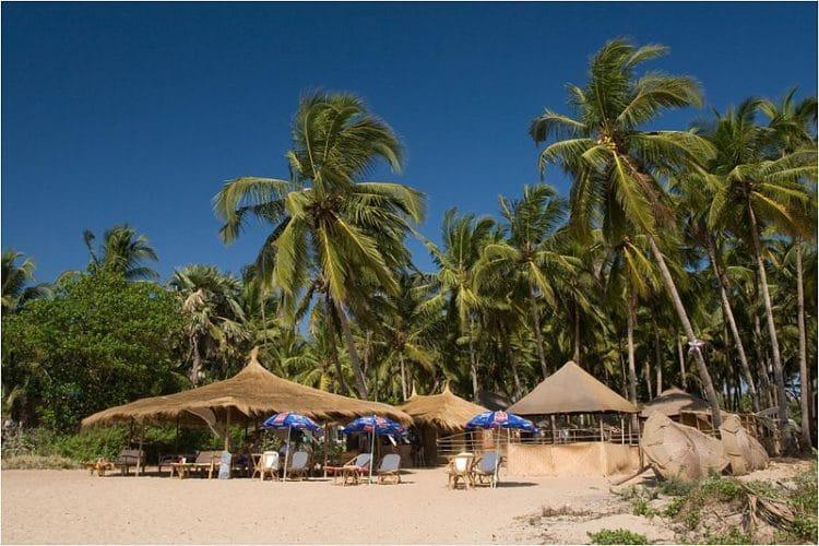 Пляж Агонда - достопримечательности Гоа
