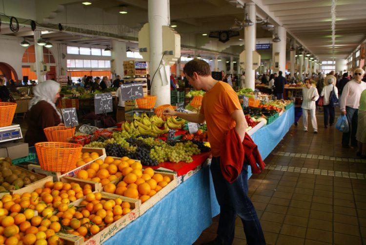 Рынок Форвиль - достопримечательности Канн