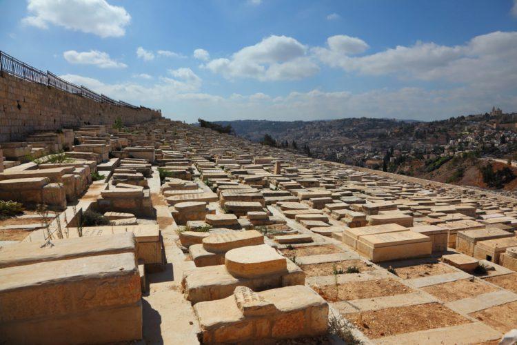 Еврейское кладбище на Елеонской горе - достопримечательности Иерусалима