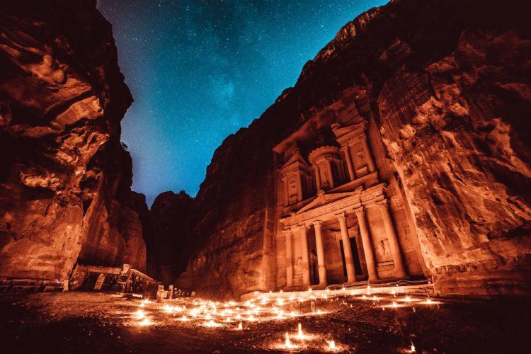 Самые красивые места земли - Древний город Петра, Иордания