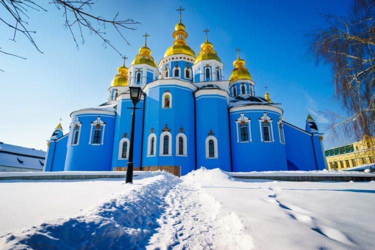 Михайловский Златоверхий монастырь - достопримечательности Киева
