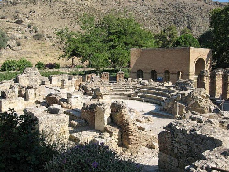 Древний город Гортина - достопримечательности Крита