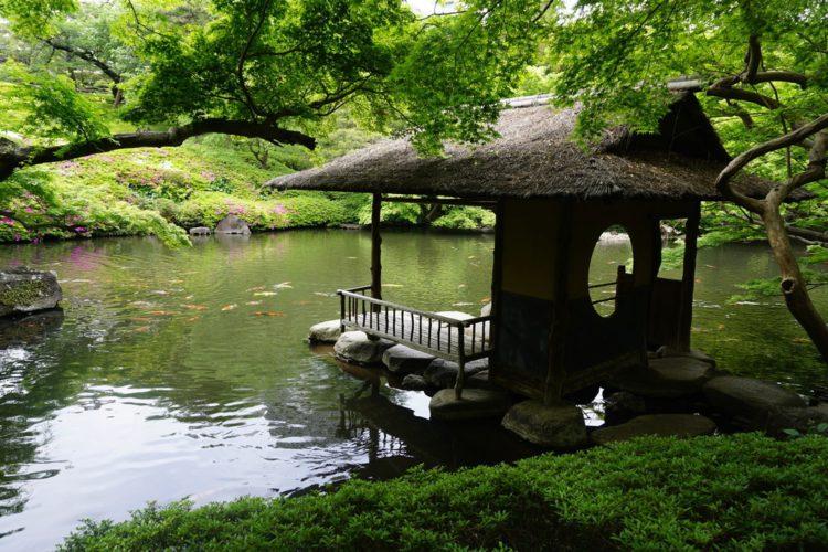 Сад Хаппоен - достопримечательности Токио