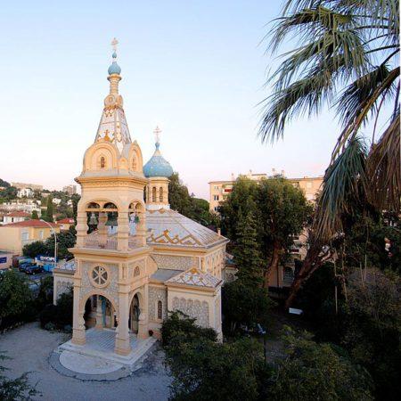Архангело-Михайловская церковь - достопримечательности Канн