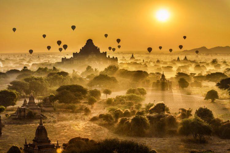Самые красивые места планеты - Баган, Мьянма