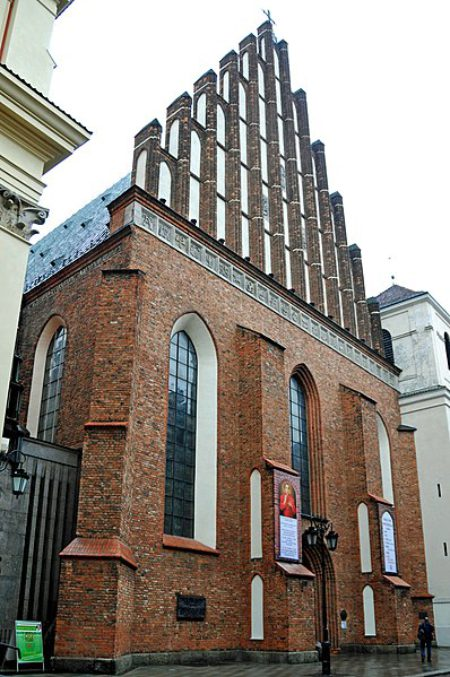 Костёл Святого Иоанна Крестителя - достопримечательности Варшавы