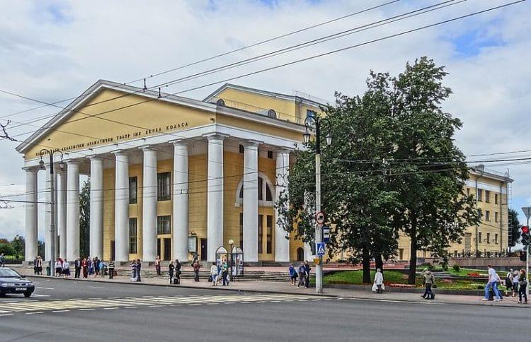 Театр имени Якуба Коласа - достопримечательности Витебска