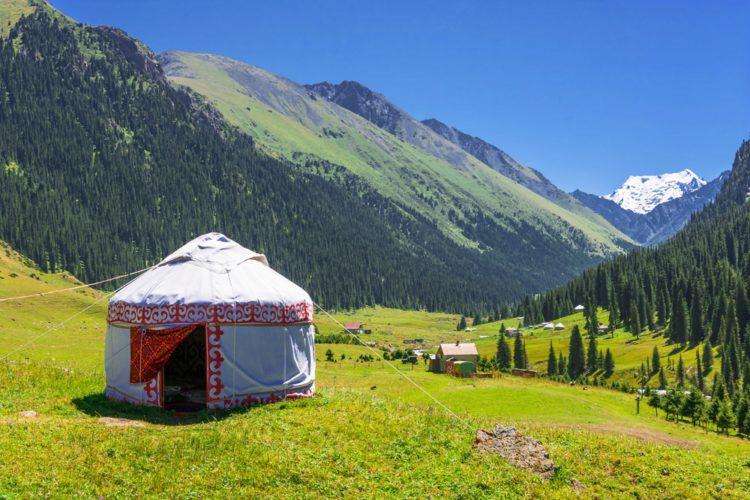 Киргизия  климат достопримечательности флаг карта киргизии